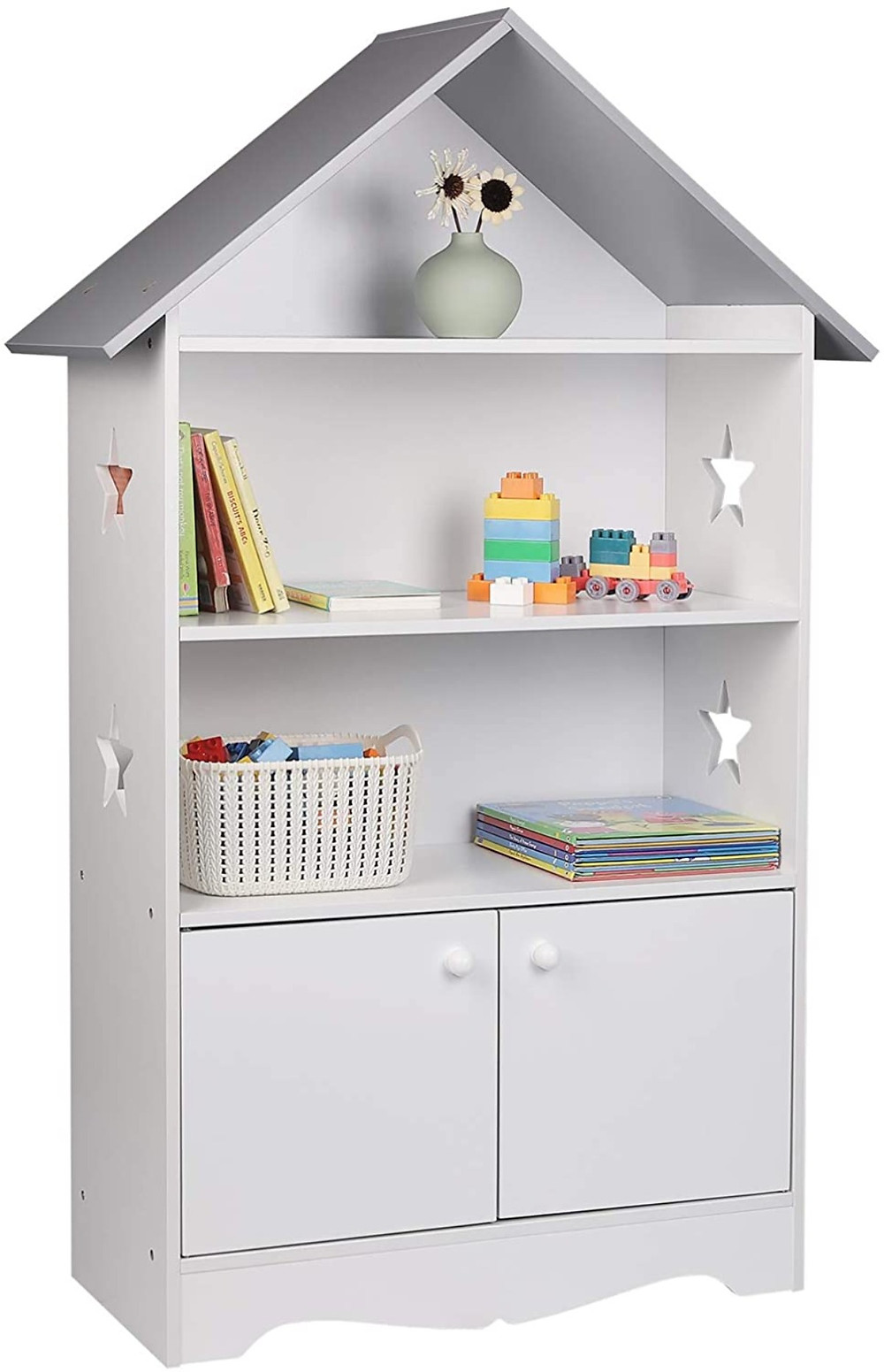 Librería infantil tipo casita
