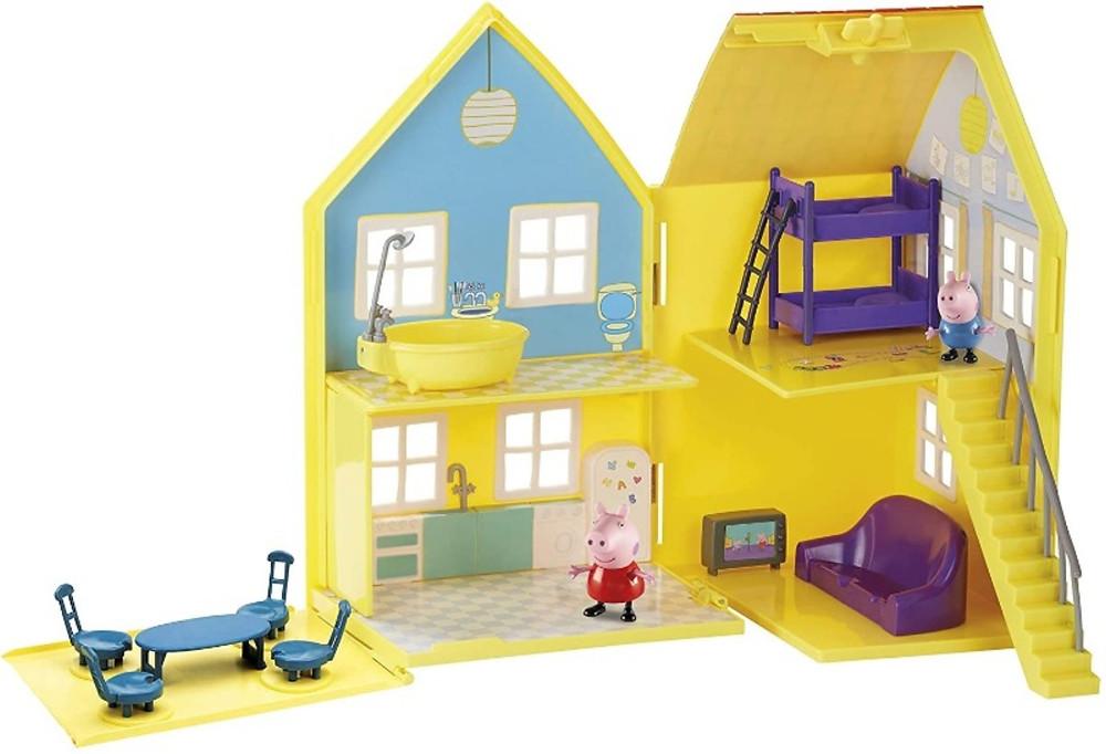Casa de Peppa Pig por dentro
