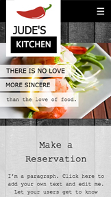 Restaurants & Food website templates – Chef Kitchen