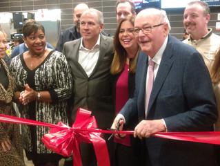 Maple Hts. Mayor Blackwell celebrates McDonald's opening