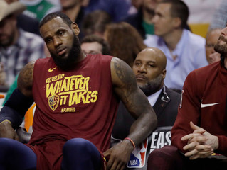 Battered Cavs Seek Solace at Home