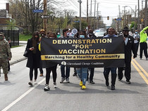"""Demonstration for Vaccination"" March"