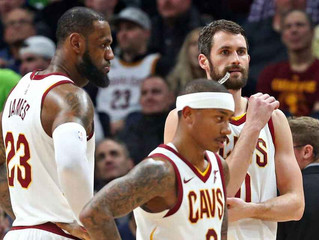 Tumbling Cavs still in title mix