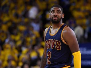 Irving, James help Cavs hold off Raptors 94-91