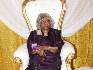 Family Matriarch Almira Byrd Honored with 90th Birthday Celebration