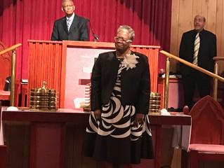 Rev. Otis Moss salutes Rev. Dr. R.E. Hedgeman
