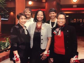 Delta's recognize Sisterhood Month