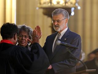 Mayor Jackson sworn in for historic term