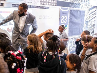 James opens school in Akron for at-risk