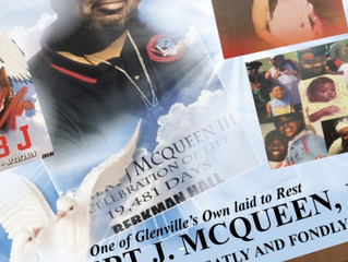 One of Glenville's Own laid to Rest ROBERT J. MCQUEEN, III    REMEMBERED GREATLY AND FONDLY