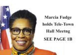 CONGRESSWOMAN FUDGE HOLD TELEPHONE TOWN HALL MEETING