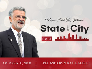 Mayor Frank G. Jackson Delivers 2018 State of the City Address Oct. 10