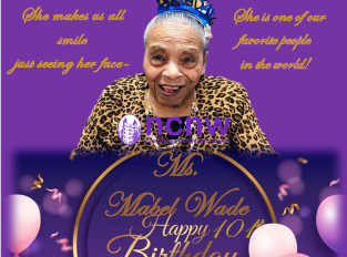 Happy 101st Birthday Mabel Wade