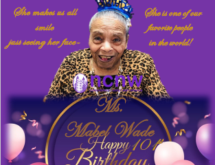Happy 101st Birthday Mabel Wade