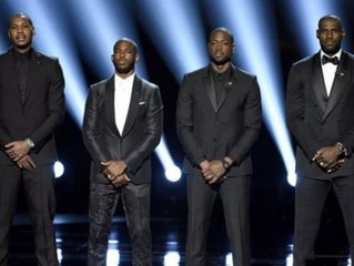 LEBRON JAMES LEADS CALL TO END GUN VIOLENCE AT ESPY AWARDS