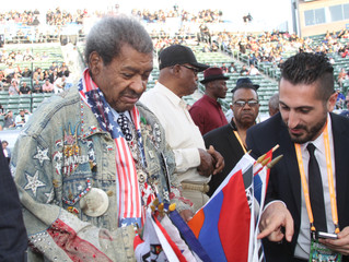 Don King Spreads Hope in Carson California