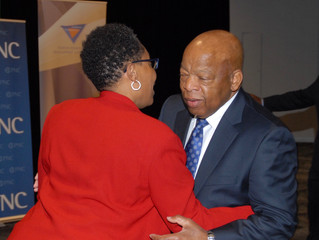 Pioneering Rep. John Lewis honored in Cleveland