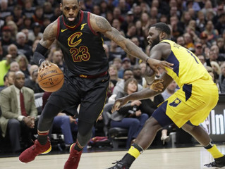 LeBron's 45 guns downs Pacers