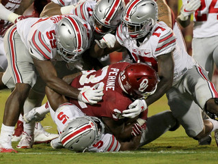 Ohio State Buckeyes No. 2 in this week's AP football Top 25 poll