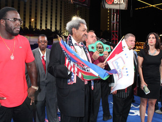 Don King powerfully advocates for women equal rights