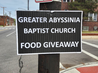 Community Faith Collaborative Blesses Community with allotment of Food