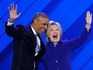 OBAMA BOOSTS CLINTON: CARRY HER LIKE YOU CARRIED ME