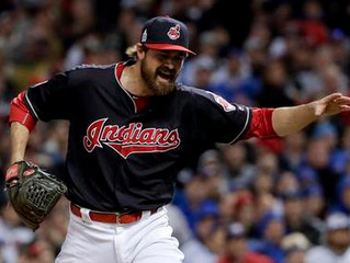 Indians blank Cubs 6-0, take 1-0 lead in the World Series