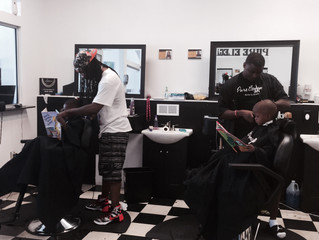 BARBERSHOPS ALL A BUZZ WITH READING BOOKS