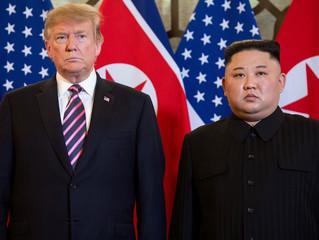 """I RESPECT PRESIDENT TRUMP, I DON'T TRUST THE UNITED STATES."" – Kim Jong Un"