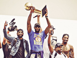 The Cavs Crown, Tribe frown and Trump Triumph
