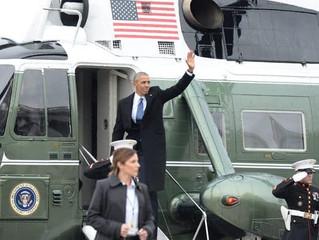 Obama Addresses Farewell Gathering