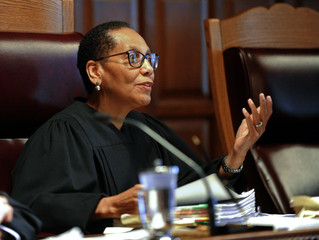 1st black woman on state's highest court found dead by river