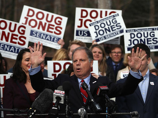 Democrat Doug Jones makes history in Alabama