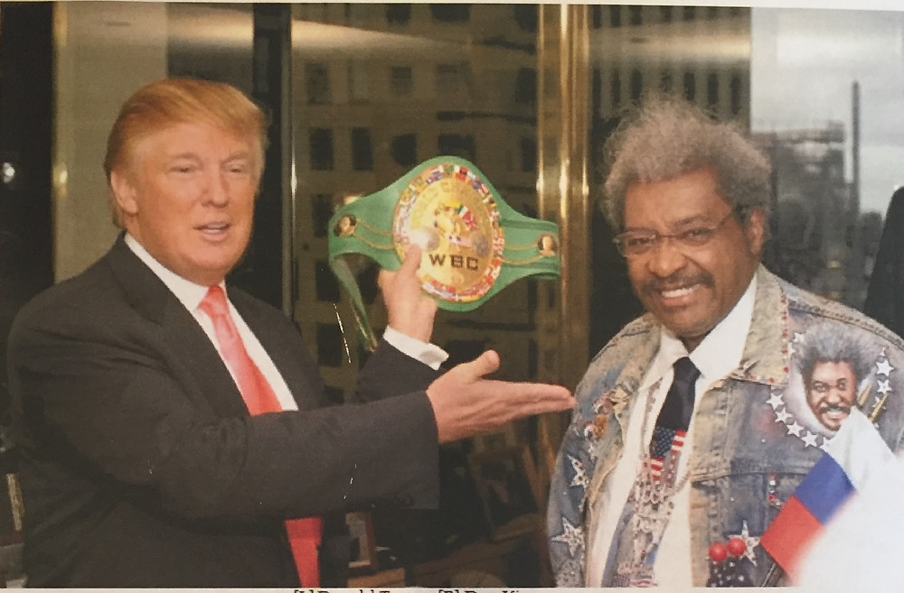 TRUMP THE CHAMPION OF THE PEOPLE