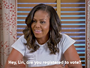 Michelle Obama Co-Chairs  New Vote Ad Campaign