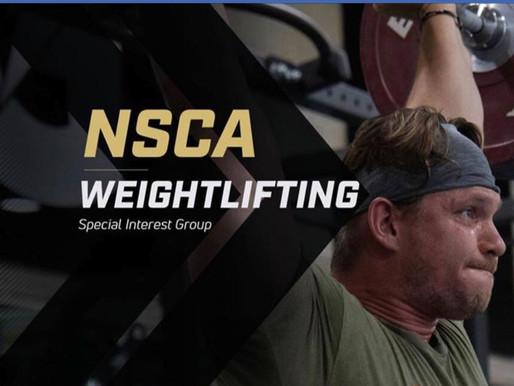 NSCA SIG Weightlifting Live Talk