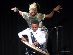 Eric Onekey et Deo Munyakazi