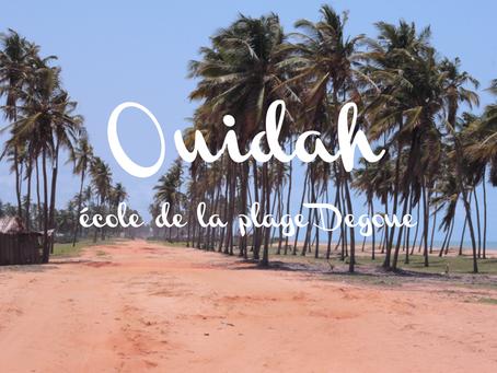 Ouidah, école de la plage Degoue