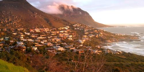 Cape Town et l'extrême sud du continent africain