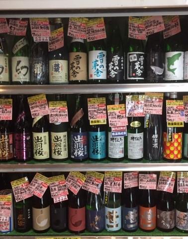 店内720ml.日本酒コーナー(県外酒)