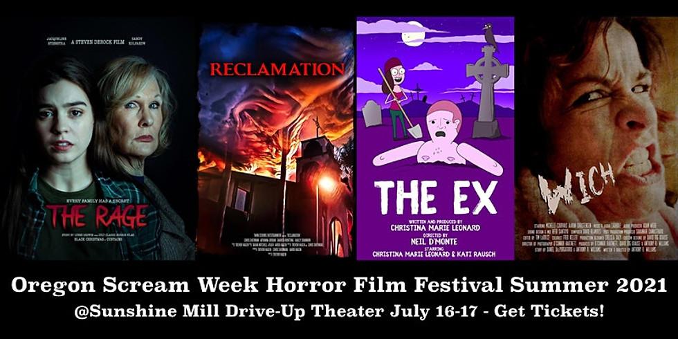 Oregon Scream Week Horror Film Festival Summer 2021