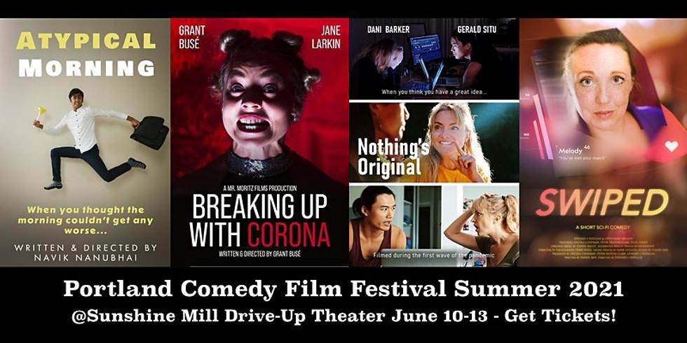 Portland Comedy Film Festival Summer 2021