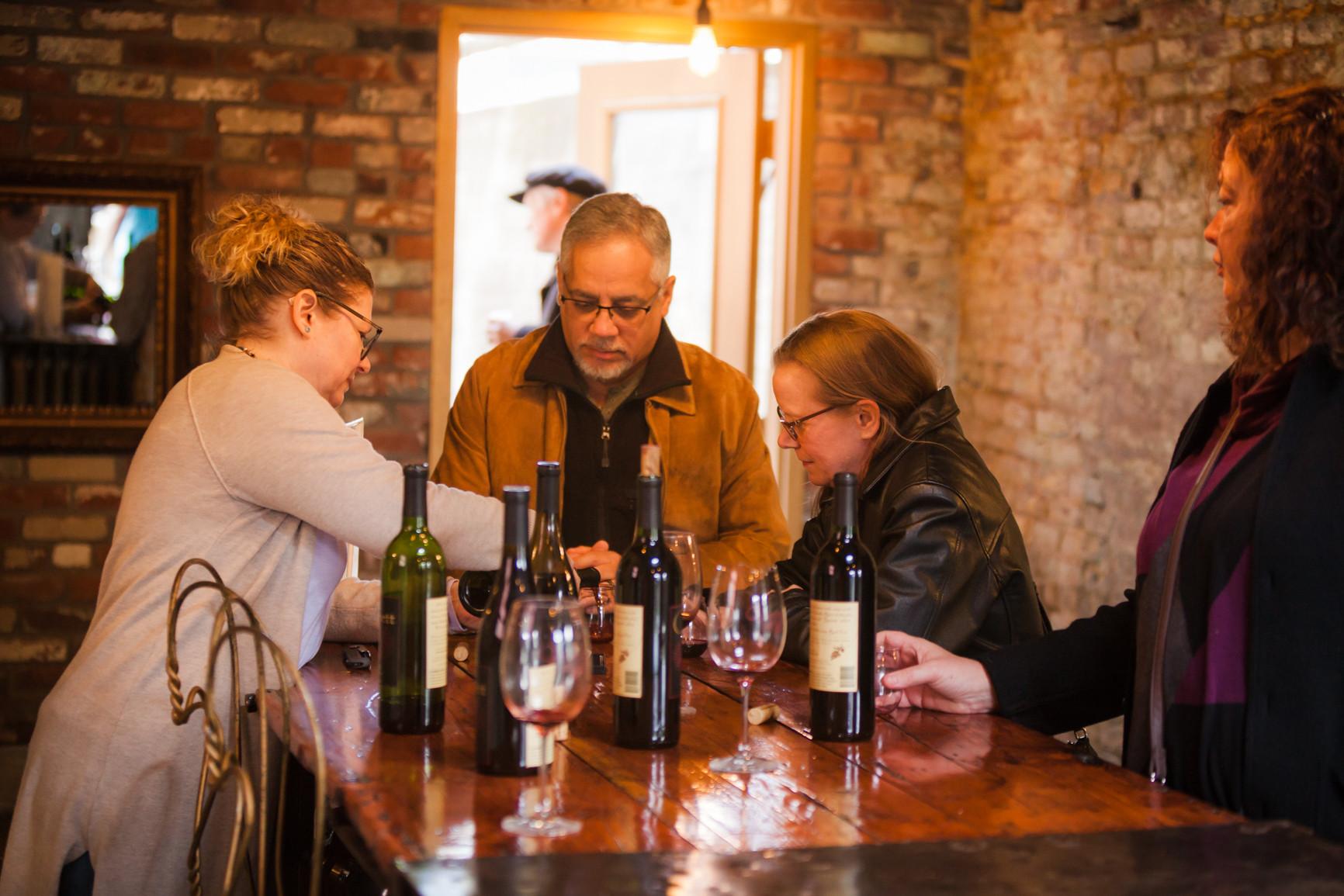 On Site Wine Tasting