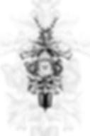 AL37-SW Aluminium-Wandbild als Kuckucksuhr Selina Haas