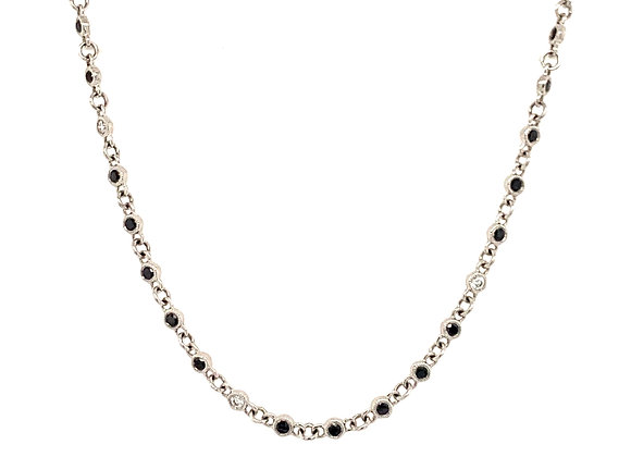 Diamond Black Onyx Necklace