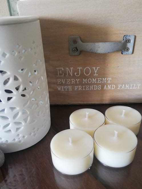 Soy Wax Tea lights unscented