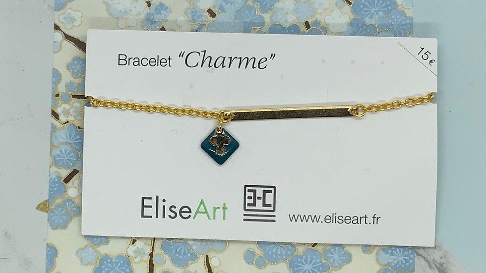 Bracelet étoile bleue