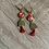 Thumbnail: Boucles d'oreilles rouge