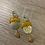 Thumbnail: Boucles d'oreilles fleuries motif pétale