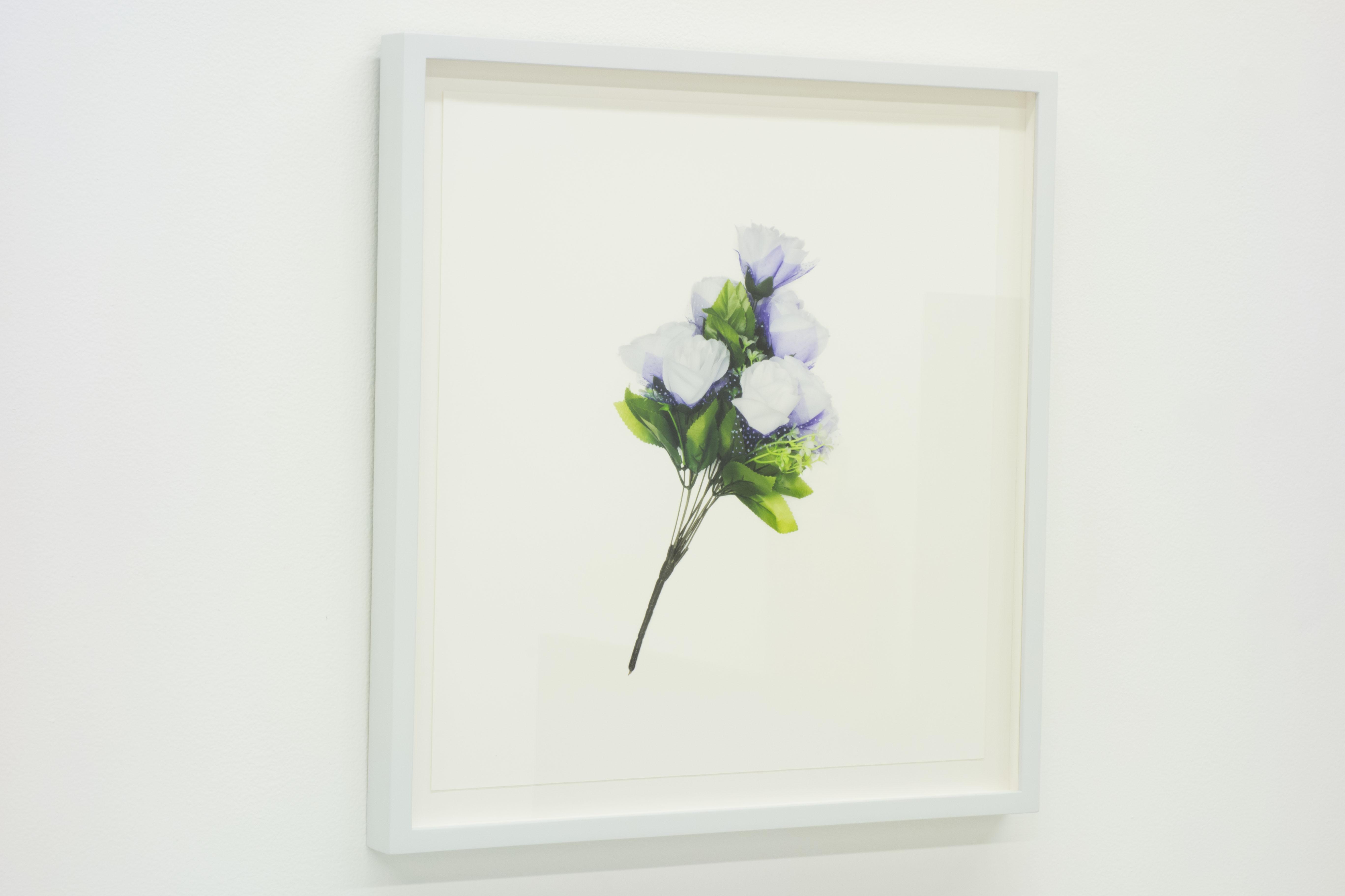 FLOWER PORTRAIT (lavender) 2014